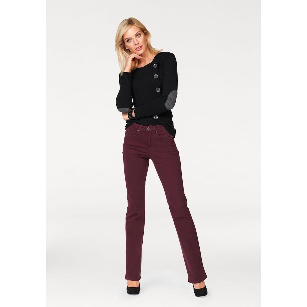 Arizona Bootcut-Jeans »Comfort-Fit«, High Waist