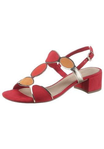 MARCO TOZZI Sandalette, mit Metallic-Details kaufen