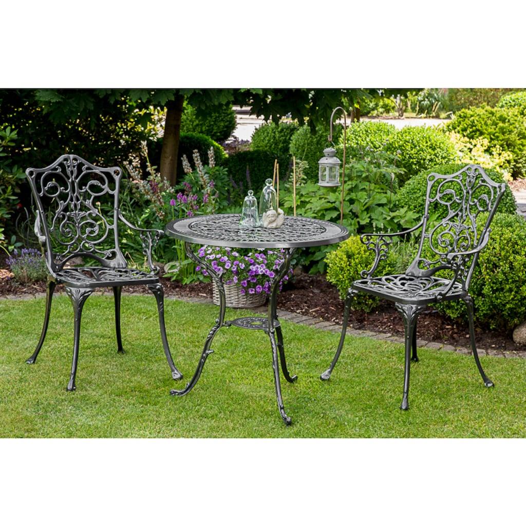 MERXX Gartensessel »Lugano«, Aluminium, graphit