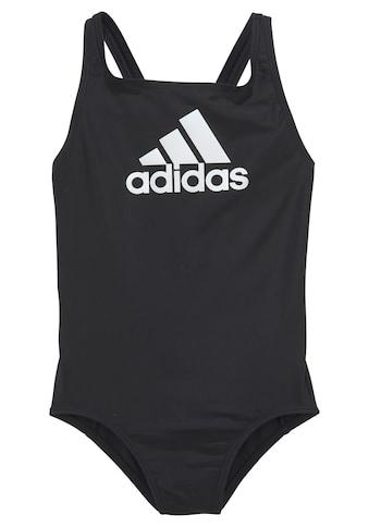 adidas Performance Badeanzug, mit grossem Logoprint kaufen