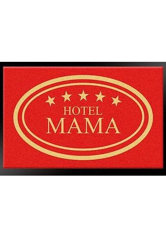 HANSE Home Fussmatte »Hotel Mama - 5 Sterne«, rechteckig, 8 mm Höhe, Schmutzfangmatte,... kaufen
