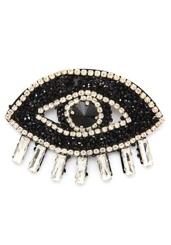J.Jayz Brosche »Auge, funkelndes Design«, mit Glassteinen kaufen