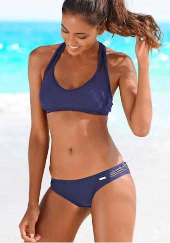 Sunseeker Bustier-Bikini »Miami«, mit Mesh-Einsatz kaufen