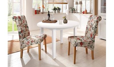 Home affaire Esstisch »Danuta«, aus massiver Kiefer, runde Ausführung kaufen