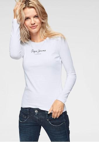 Pepe Jeans Langarmshirt »NEW VIRGINA L/S« kaufen
