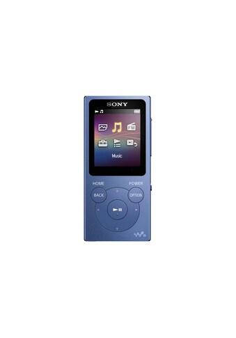 MP3 Player, Sony, »Walkman NW - E393L Blau« kaufen