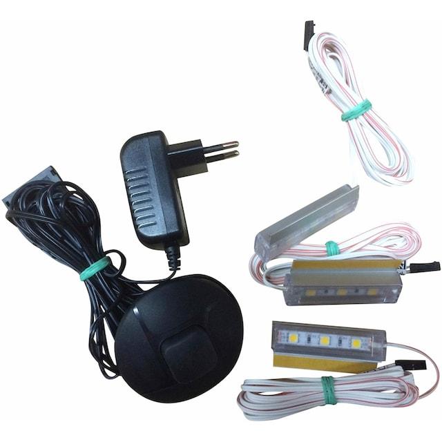trendteam,LED Einbaustrahler»LED-Backlight-Clipwarm - weiss«,