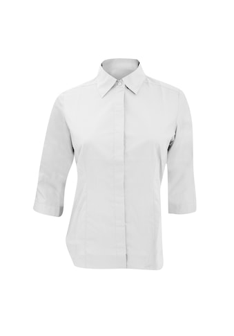 Russell 3/4 - Arm - Shirt »Collection Popelin Bluse, pflegeleicht, tailliert, 3/4 - Ärmel« kaufen