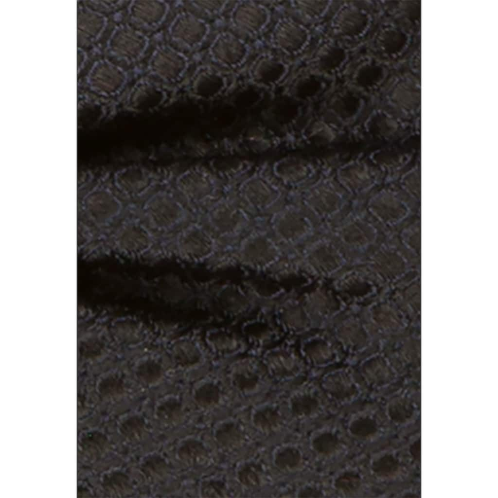 seidensticker Fliege »Schwarze Rose«, 12 cm Uni