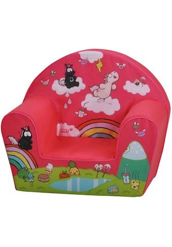 Knorrtoys® Sessel »Nici, Theodor Carbon, pink« kaufen