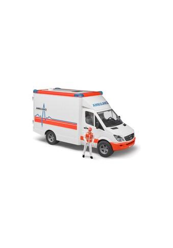 Bruder® Spielfahrzeug-Erweiterung »MB Sprinter Ambulanz mit Fahrer«, (Set) kaufen