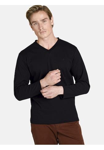 Charles Colby Langarmshirt »EARL CILLIAN«, komfortables Basic-Shirt kaufen