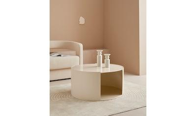 LeGer Home by Lena Gercke Couchtisch »Ivy«, rund, 0,6 cm starke Tischplatte, offenes Fach kaufen