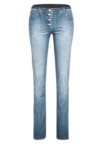 Maier Sports Funktionshose »Sivi«, Jeans-Optik, Softshell, winddicht, figurbetont kaufen