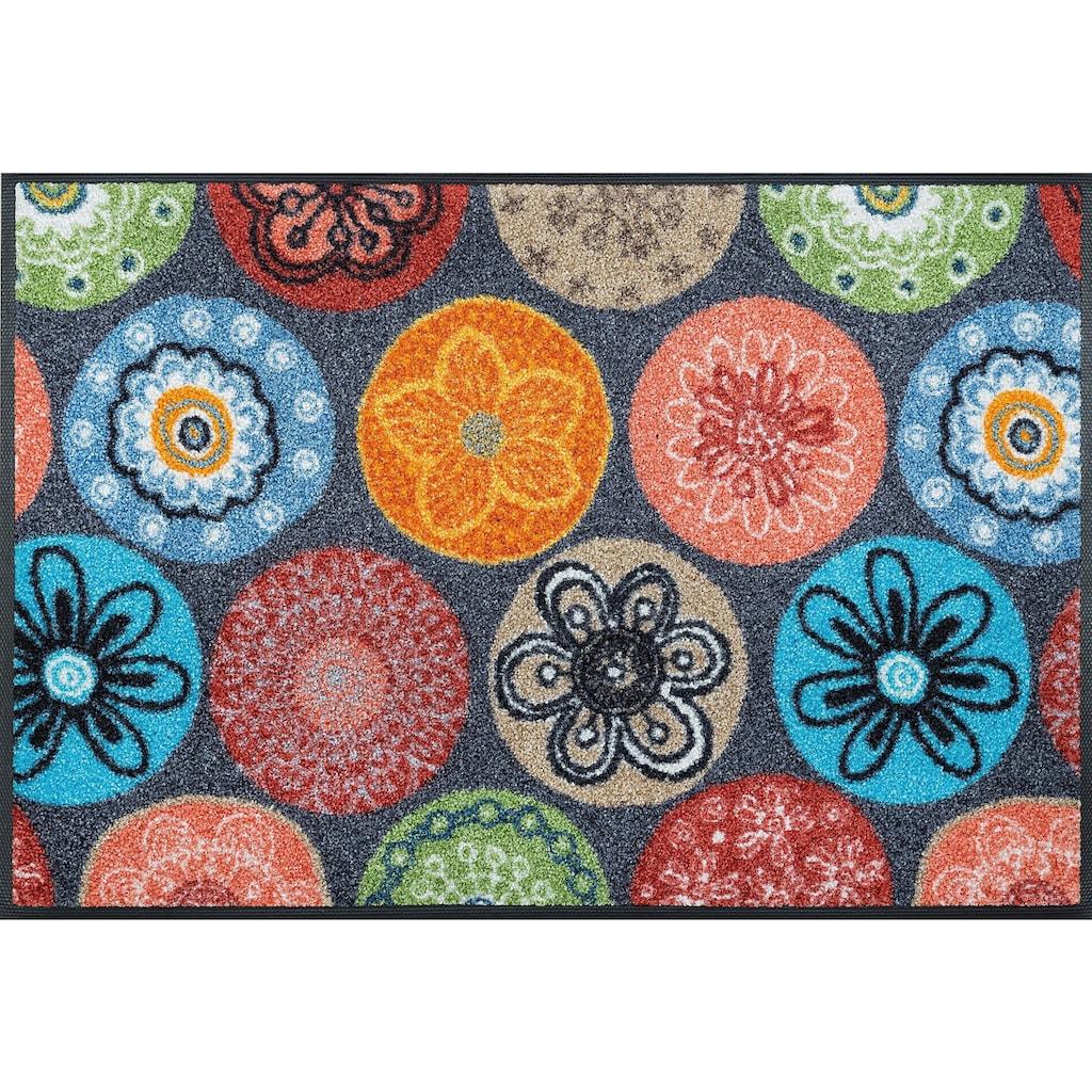wash+dry by Kleen-Tex Fussmatte »Coralis«, rechteckig, 7 mm Höhe, Schmutzfangmatte, In- und Outdoor geeignet, waschbar