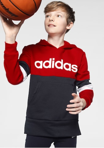 adidas Performance Kapuzensweatshirt »YOUTH BOY LINEAR CLUB HOOD FLEECE« kaufen