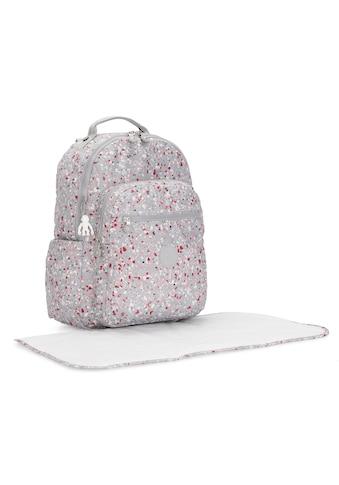 KIPLING Wickelrucksack »Seoul Baby, Speckled«, mit Wickelunterlage kaufen