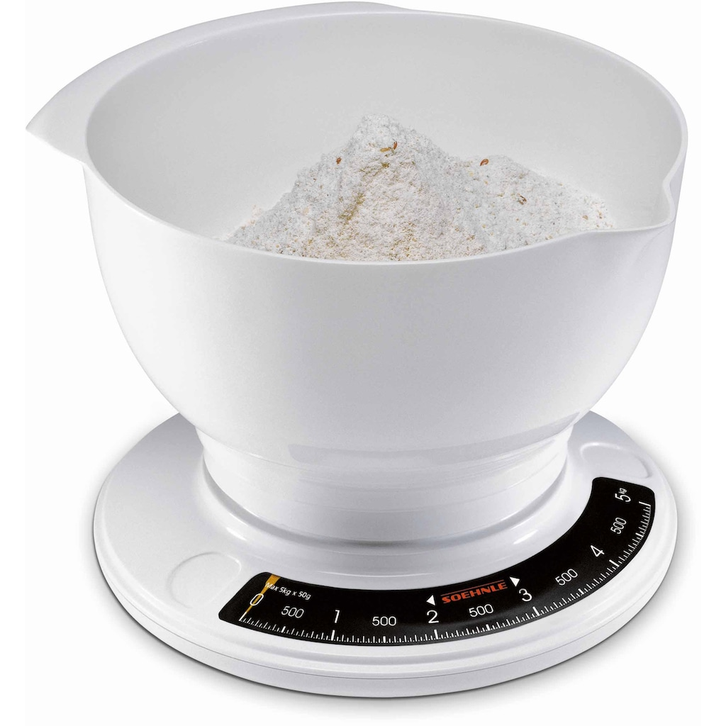 Soehnle Küchenwaage »Culina Pro«, mit grosser Rührschüssel