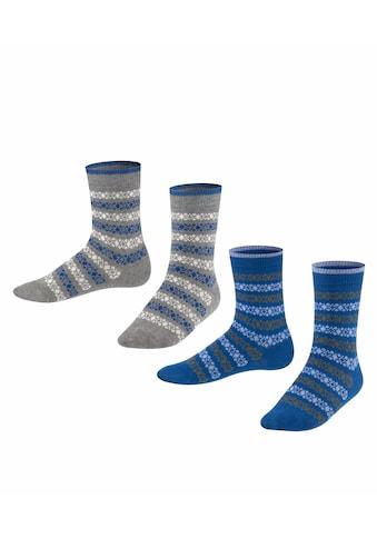 Esprit Socken Geo Pattern 2 - Pack (2 Paar) kaufen