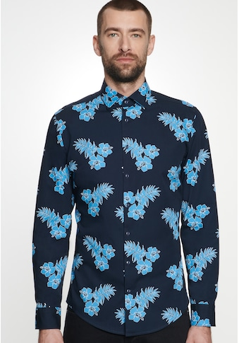 seidensticker Businesshemd »Shaped«, Shaped Langarm Kentkragen Floral kaufen