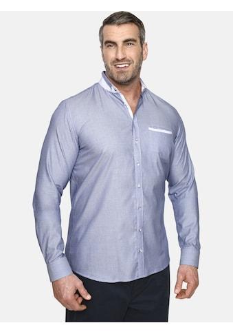 Charles Colby Langarmhemd »DUKE ADEWALE«, mit doppeltem Stehkragen kaufen