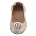 TOMMY HILFIGER Ballerina »TH BASIC LEATHER BALLERINA«, mit Schmuckelement