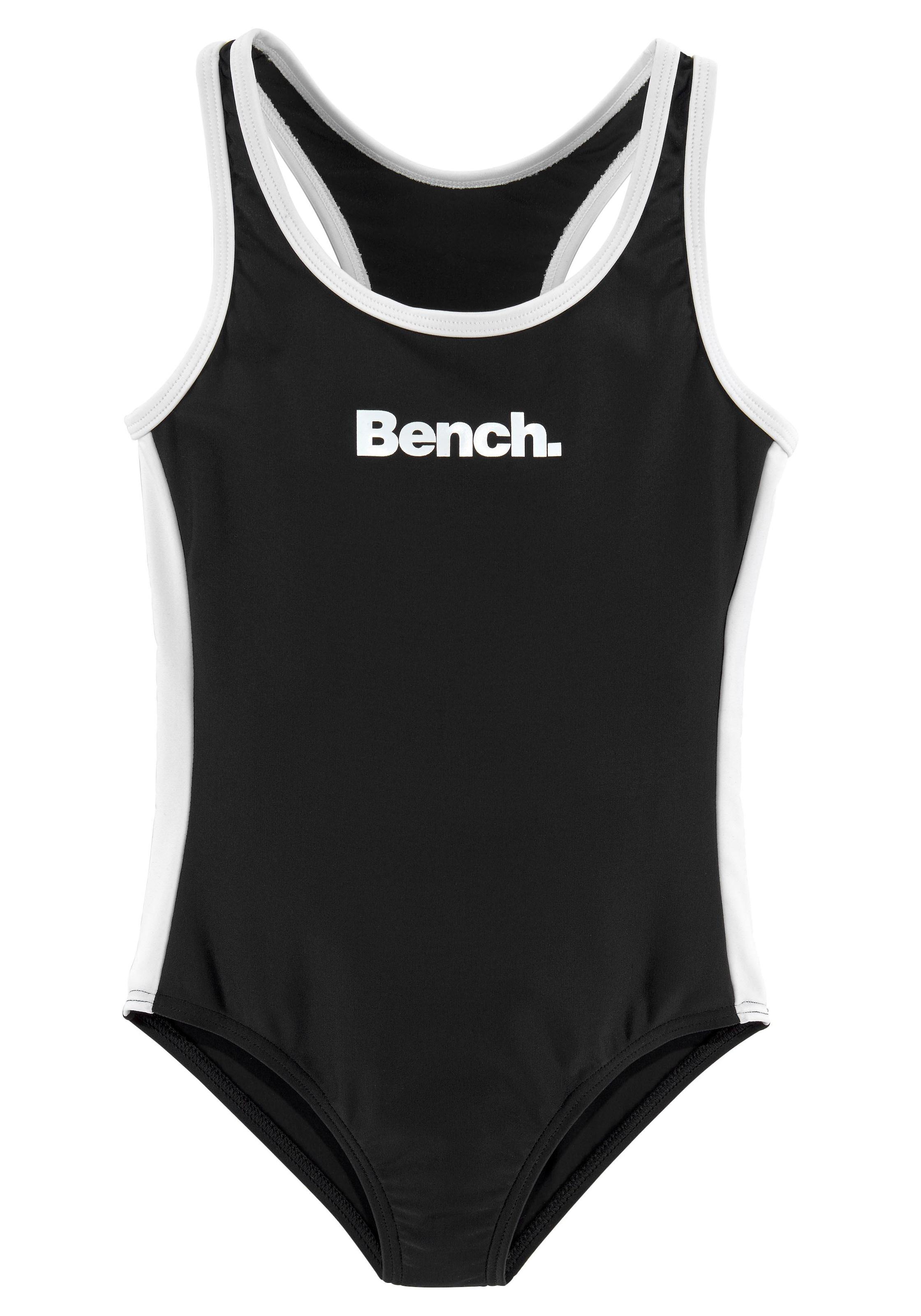 Image of Bench. Badeanzug, mit Logoprint