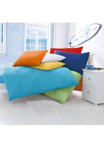 Bettbezug »Seersucker Uni«, (1 St.) kaufen