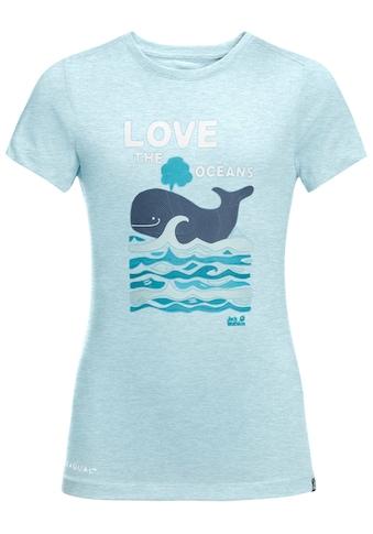 Jack Wolfskin T-Shirt »OCEAN T KIDS« kaufen