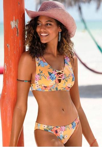Bench. Triangel-Bikini-Top »Maui«, mit Zierschnürung am Ausschnitt kaufen