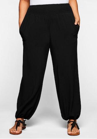 Sheego Schlupfhose, mit breitem, elastischen Bund kaufen