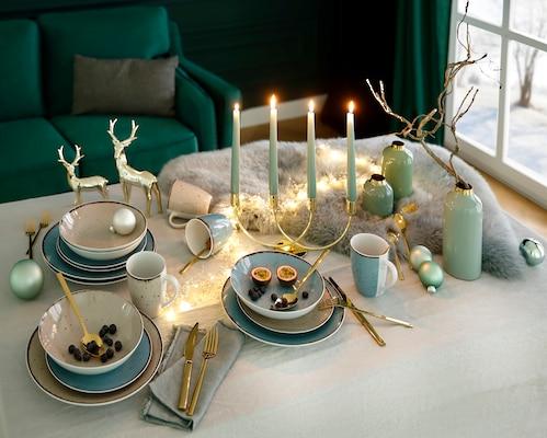 festliches Geschirr-Set
