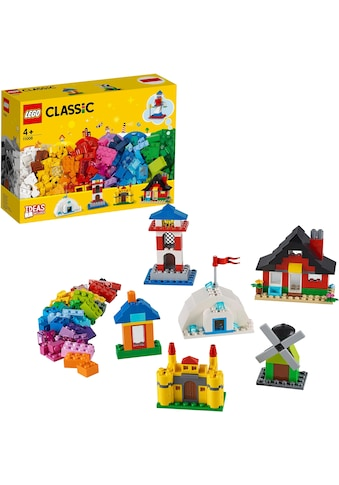 LEGO® Konstruktionsspielsteine »LEGO® Bausteine - bunte Häuser (11008), LEGO®... kaufen
