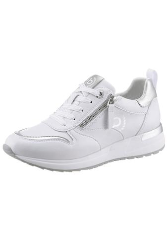 bugatti Keilsneaker »IVORY EVO«, mit Metallic Effekten kaufen