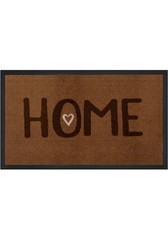 HANSE Home Fussmatte »Lovely Home«, rechteckig, 5 mm Höhe, Schmutzfangmatte, mit... kaufen