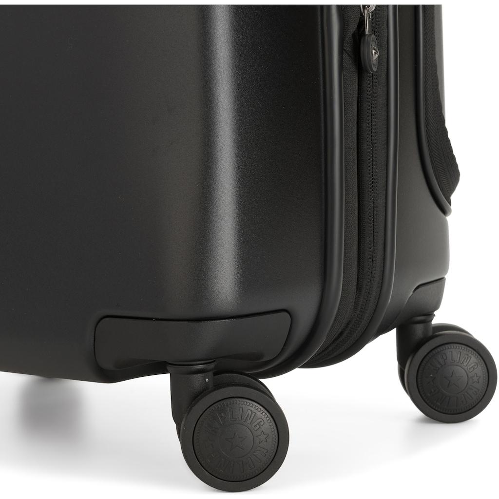 KIPLING Hartschalen-Trolley »Curiosity PKT, 55 cm, Black Noir«, 4 Rollen, mit Dokumentenfach