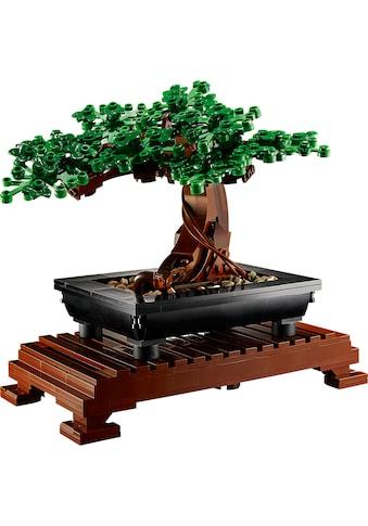 LEGO® Konstruktionsspielsteine »Bonsai Baum (10281), LEGO® Creator Expert«, (878 St.),... kaufen