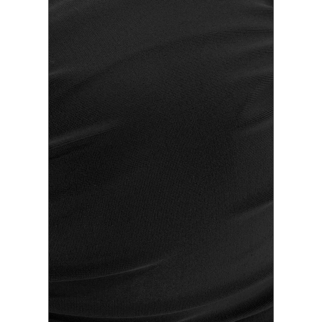 LASCANA Bügel-Bikini, mit dekorativer Raffung