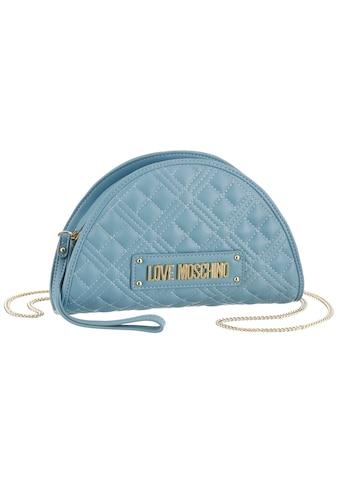 LOVE MOSCHINO Mini Bag, in halfmoon Optik und Ziersteppung kaufen