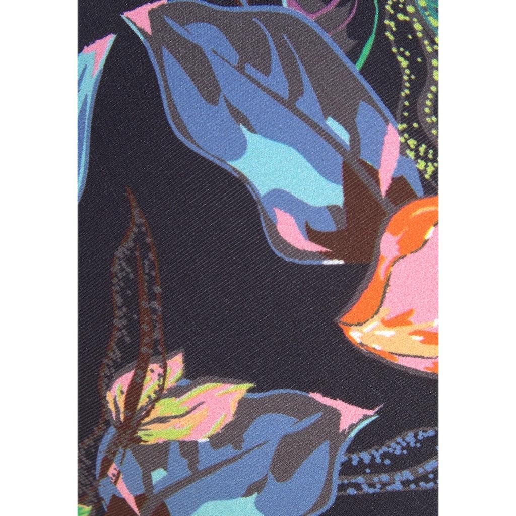 LASCANA Push-Up-Bikini-Top »Malia«, mit tropischem Print