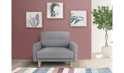 Home affaire Sessel »Triplo«, mit Steppung im Rückenkissen kaufen