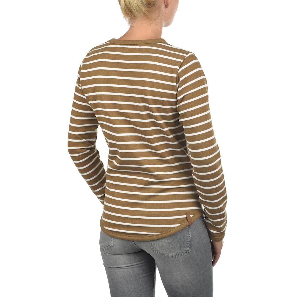 Blendshe Sweatshirt »Christin«, Sweatpullover mit Streifen