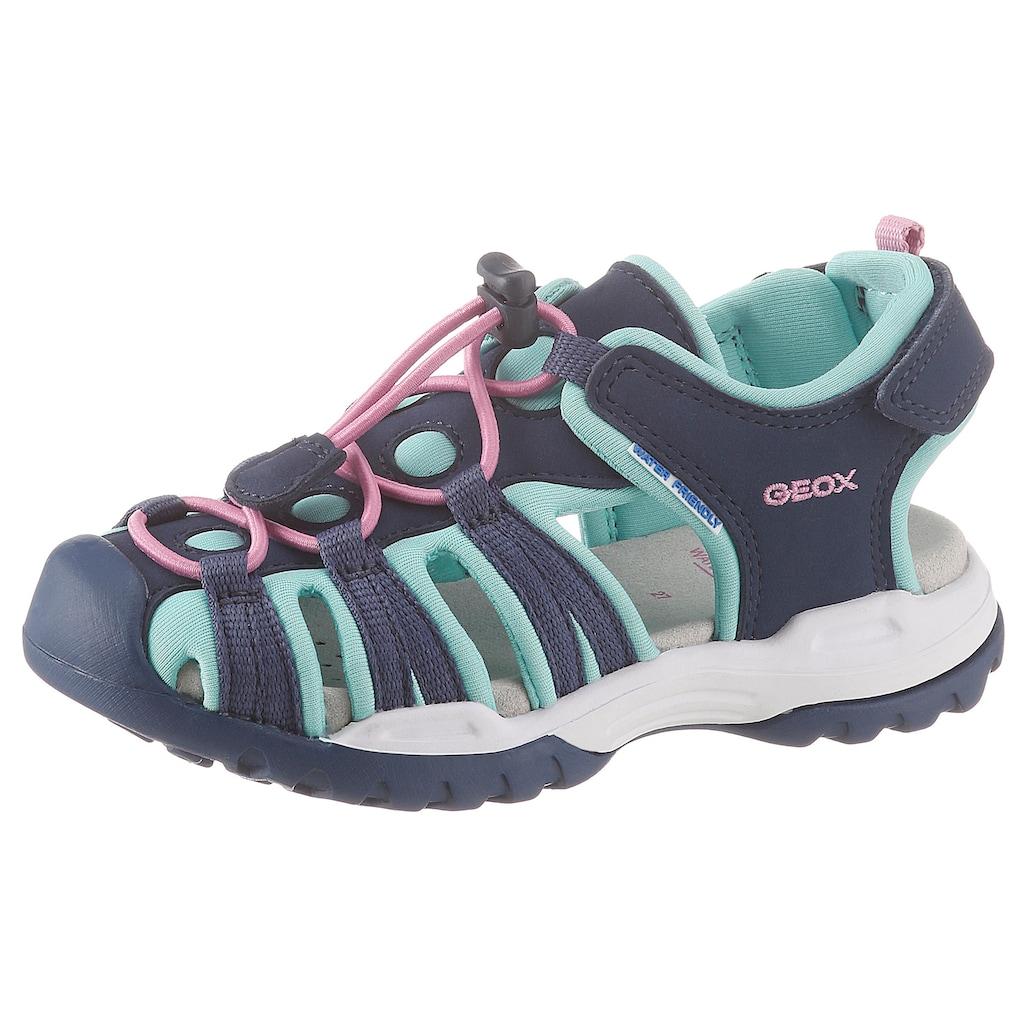 Geox Kids Sandale »Borealis Girl«, mit praktischem Schnellverschluss
