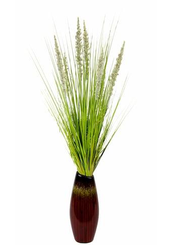 Kunstpflanze »Grasbusch in Vase« kaufen