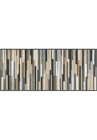 wash+dry by Kleen-Tex Teppich »Mikado Stripes«, rechteckig, 7 mm Höhe, In- und Outdoor... kaufen