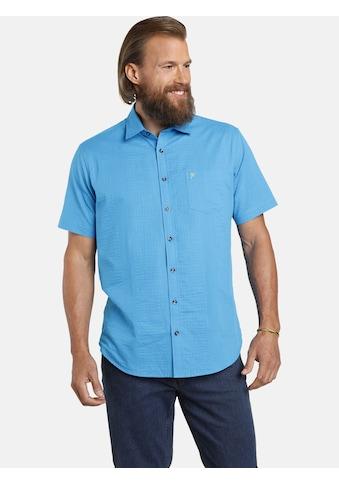Jan Vanderstorm Kurzarmhemd »JELIN«, (2er-Pack), luftige Seersucker Qualität kaufen