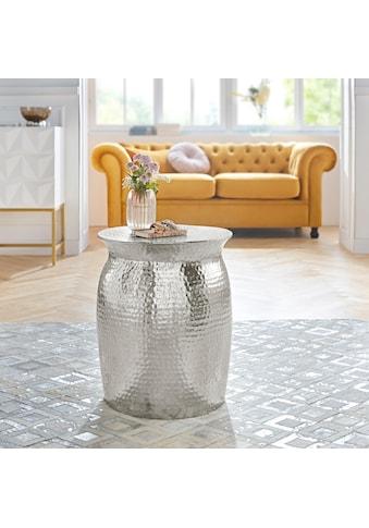 Leonique Couchtisch »Melun«, aus Aluminium, in modernem Design kaufen