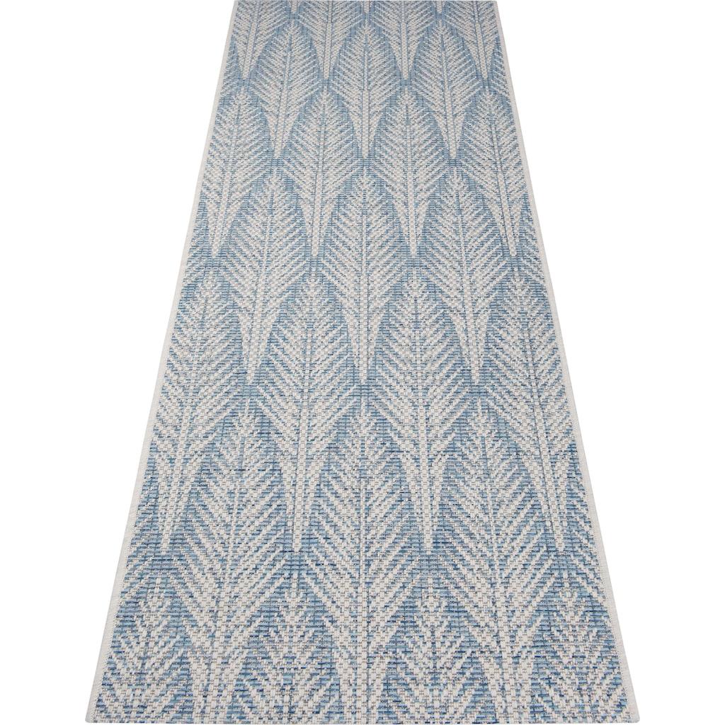 bougari Läufer »Pella«, rechteckig, 4 mm Höhe, In- und Outdoor geeignet, Flachgewebe