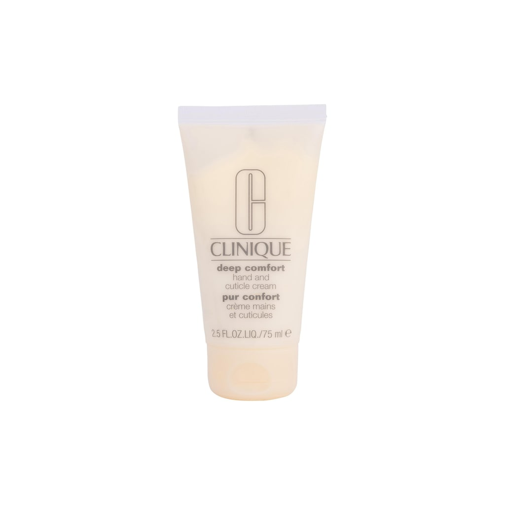 CLINIQUE Handcreme »Deep Comfort Hand and Cuticle 75 ml«