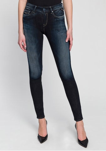Replay Skinny-fit-Jeans »New Luz Hyperflex«, in hochwertiger Stretch-Qualität mit dezenten Used-Details kaufen